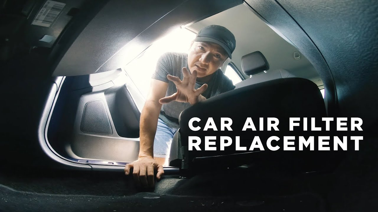 HOW TO REPLACE CAR AIR FILTER
