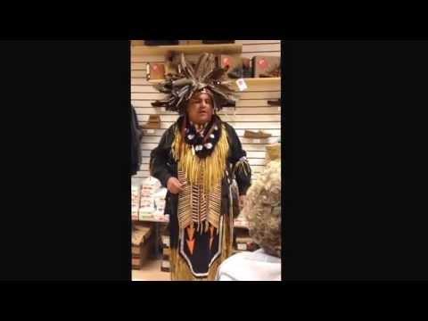 Native American Storyteller Dennis Clause.