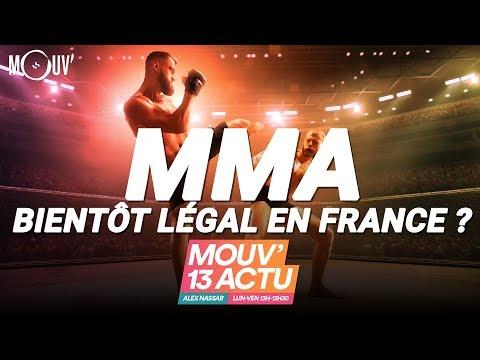 MMA : Bientôt légal en France ?