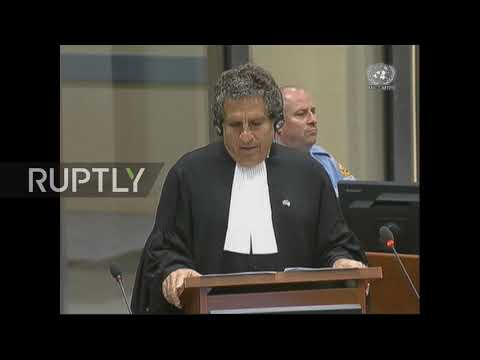 Netherlands: Radovan Karadzic launches appeal to overturn war crimes convictions