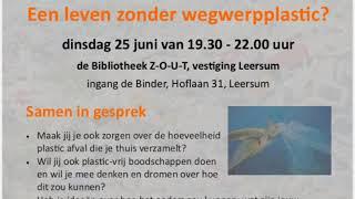 Plasticvrij Challenge Bibliotheek 2019, ZOUT