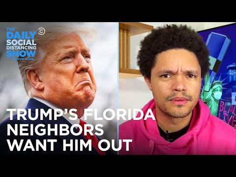 Trump Eases Showerhead Rules & Mar-a-Lago Neighbors Want Him Out | The Daily Social Distancing Show