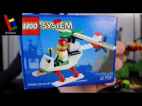LEGO TOWN STUNT COPTER 6515 FROM 1994!