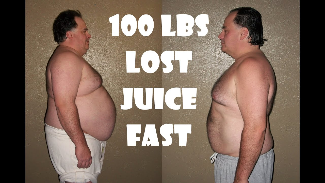 Juice Fasting Results Before Amp After 100 Pounds Lost