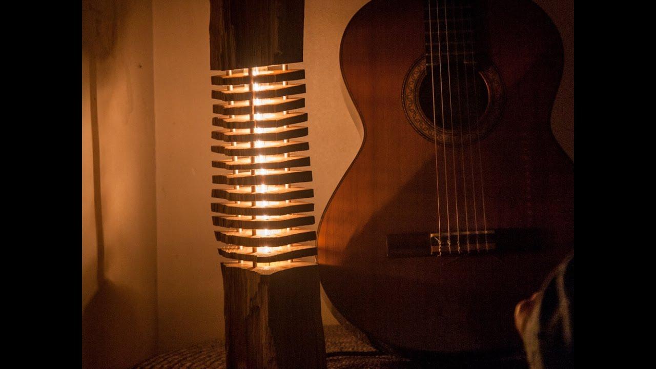 Comment Realiser Une Lampe Design Rustique En Bois A Partir D Un Kit
