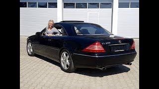 Mercedes Benz CL 600 V12 Biturbo C215