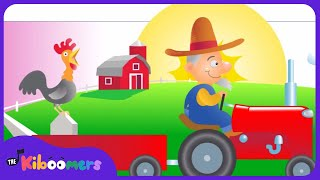 Old MacDonald Had A Farm | Nursery Rhymes | Kids Songs | The Kiboomers