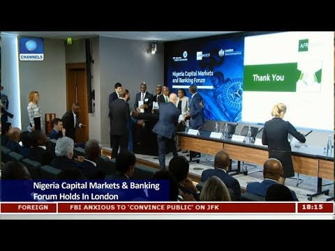 Nigeria Capital Markets & Banking Forum Holds In London