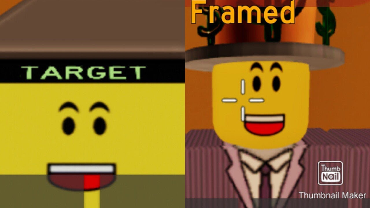 The Framed Collection Roblox Roblox Framed Is Fun Until The Sweats Come On Youtube