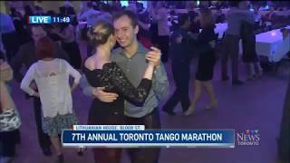 Toronto Tango Marathon live on CTV News