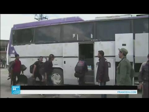إجلاء آخر المسلحين من مدينة حمص
