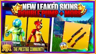 Fortnite 3.5 - LEGENDARY SKINS - ITEMS, 'NEW' DOUBLE PUMP Tutorial, NEW CHALLENGE Résolu!