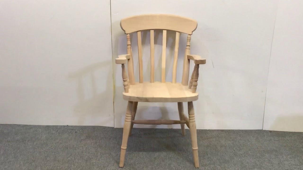 Carver Slat Back Farmhouse Chair In