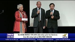 PHÓNG SỰ CỘNG ĐỒNG: Cosunam gây quỹ hỗ trợ đấu tranh ở Việt Nam tại Thuỵ Sĩ