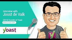Joost de Valk founder and CEO of Yoast SEO Plugin for WordPress - Search Talk Live