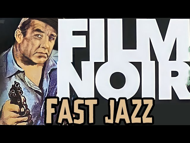 Fast Noir Music - Film Noir Car Chase  - Rob Cavallo Composer - Louis CK Jazz
