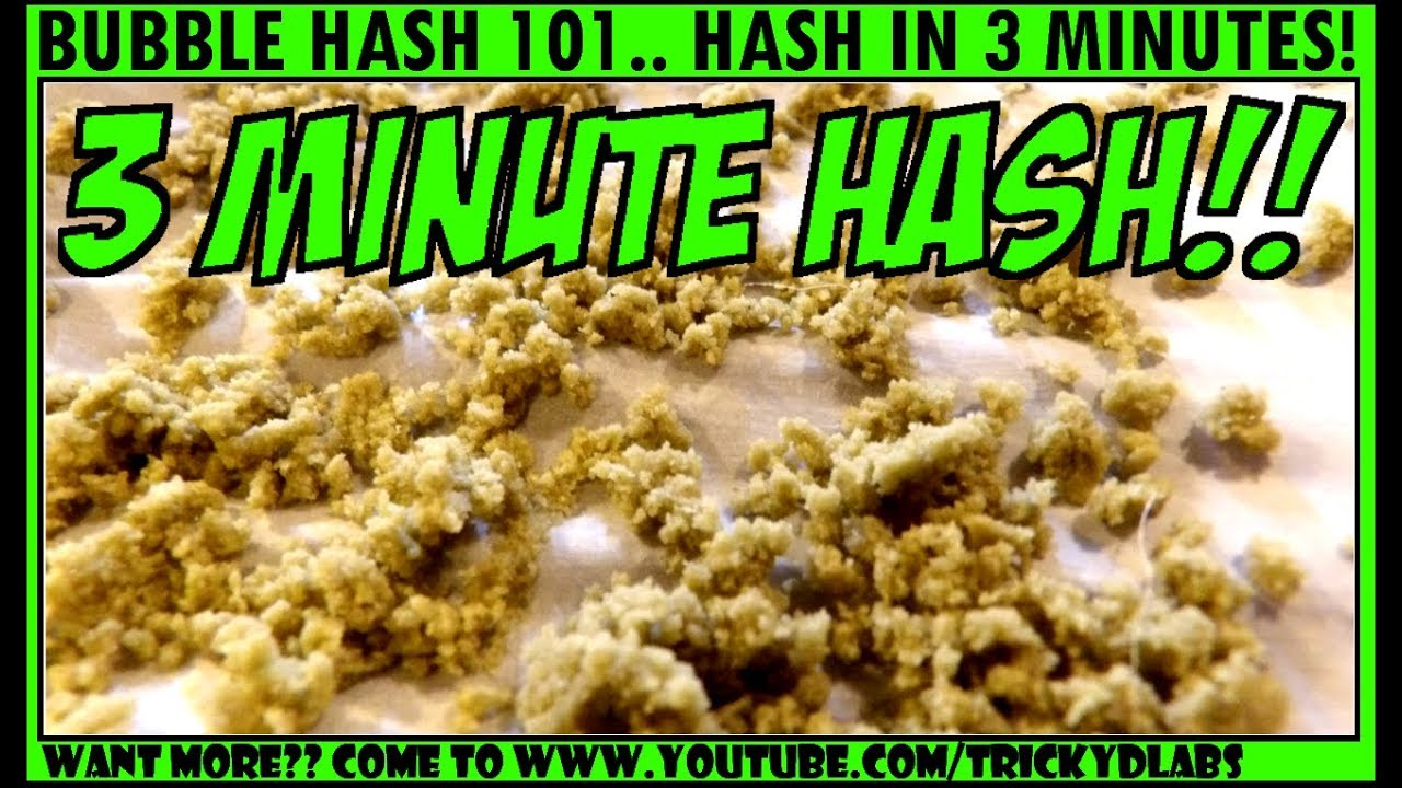 Full Melt Bubble Hash in Just 3 Minutes!!