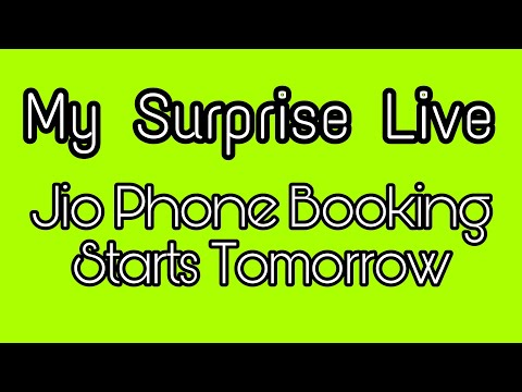 Again Surprise LIVE | Ask Your Questions | Jio Phone Booking