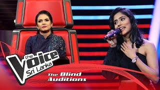 Eranga Sandaruwini - Me Awanhale (මේ අවන්හලේ) | Blind Auditions | The Voice Sri Lanka Thumbnail
