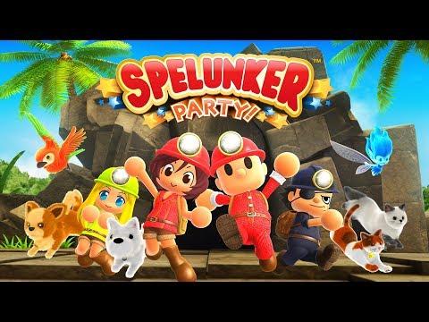 Spelunker Party! Youtube Video