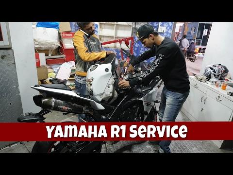 download Servicing is done   Yamaha R1   ft. cool Sameer   MSK vlogs India