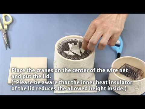 Make orizuru (paper crane) with PMC Sheet