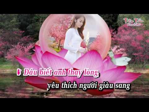 Anh Quên Em Gái Quê Rồi-karaoke song ca-Lý Diệu Linh ft Phi Bằng
