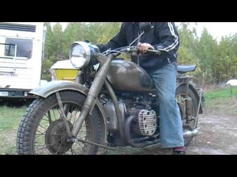 Ural motorcycle 1952