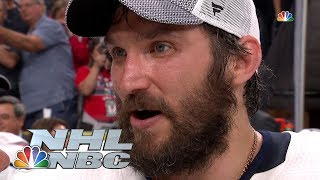Ovechkin euphoric after Capitals