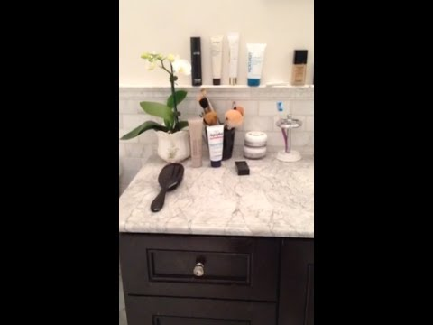 Bathroom Vanity Tour Most Used Products