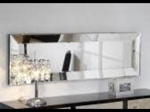 Credenzas Modernas En Espejo : Como hacer espejos marcos mdf decorativo facil con poco dinero