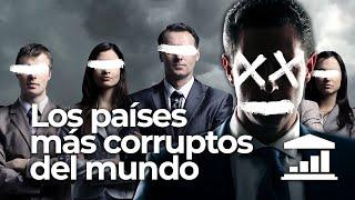 ¿Cuáles son los PAÍSES más CORRUPTOS del MUNDO? - VisualPolitik
