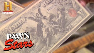 Pawn Stars: Expensive 1896 Silver Certificates (Season 3) | History