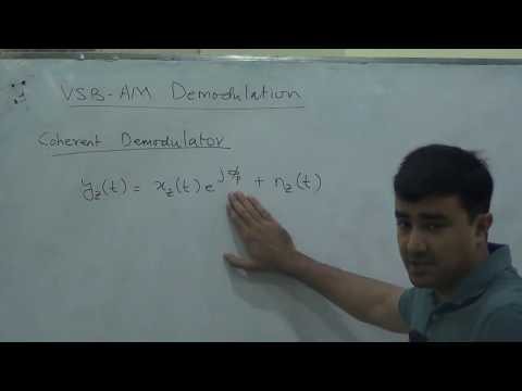 Phase/Frequency Modulation, VSB-AM phase estimation, Communication Systems Lec 15/20