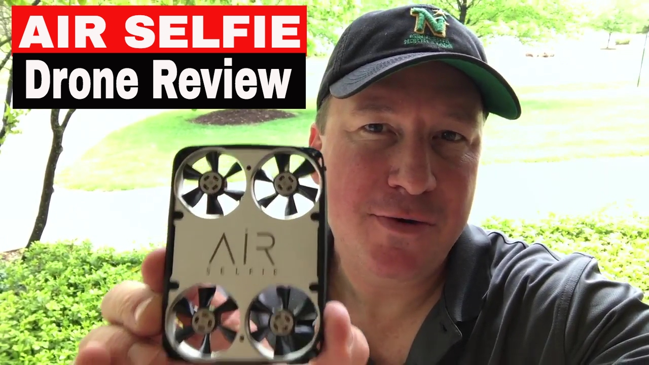 Air Selfie Pocket Size Drone Review And Demonstration