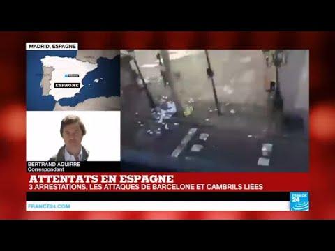 Attentat du groupe État islamique à Barcelone : Le chauffeur de la camionnette toujours en fuite