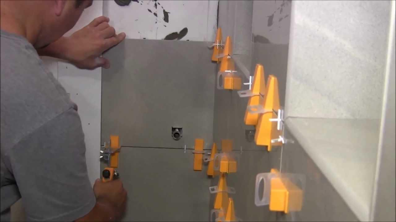 Brown Large Bathroom Tiles