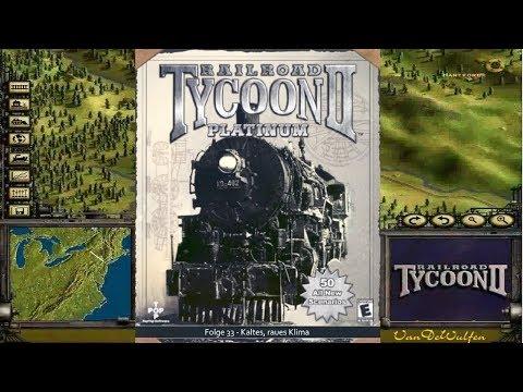 Kaltes, raues Klima | Railroad Tycoon 2 #33 | VanDeWulfen