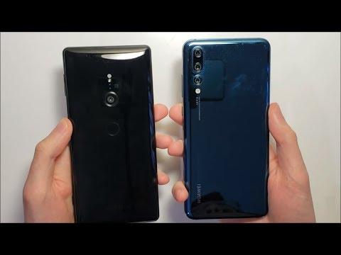 Sony Xperia XZ2 vs Huawei P20 Pro Speed Test & Camera Test!