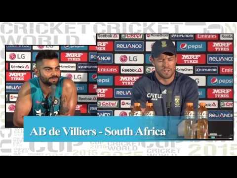 Virat Kohli vs AB de Villiers: War of Words ahead of WC clash
