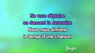 Karaoké La Javanaise - Serge Gainsbourg *