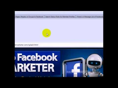 Auto Facebook Marketing Tool