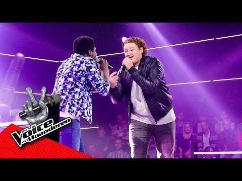 Tomi en Bonni zingen 'Wonderful World' | The Battles | The Voice van Vlaanderen | VTM