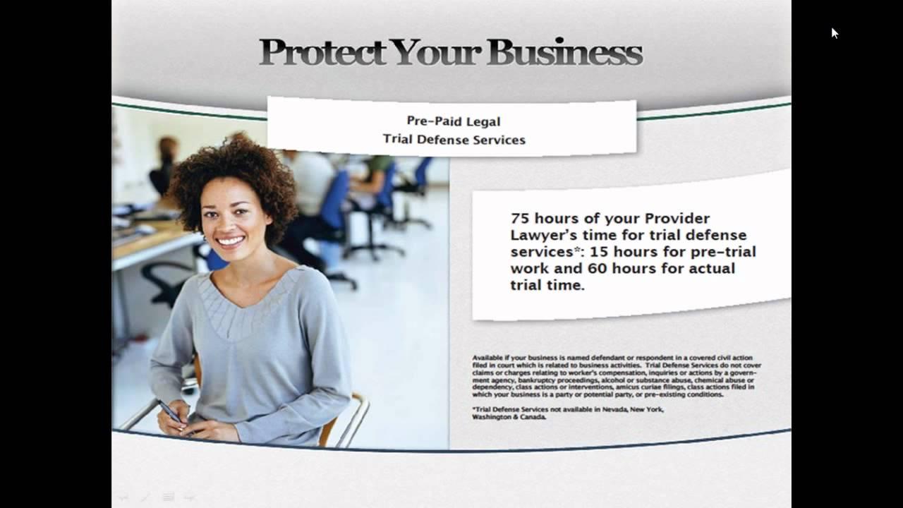 Legal Shield Small Biz Presentation