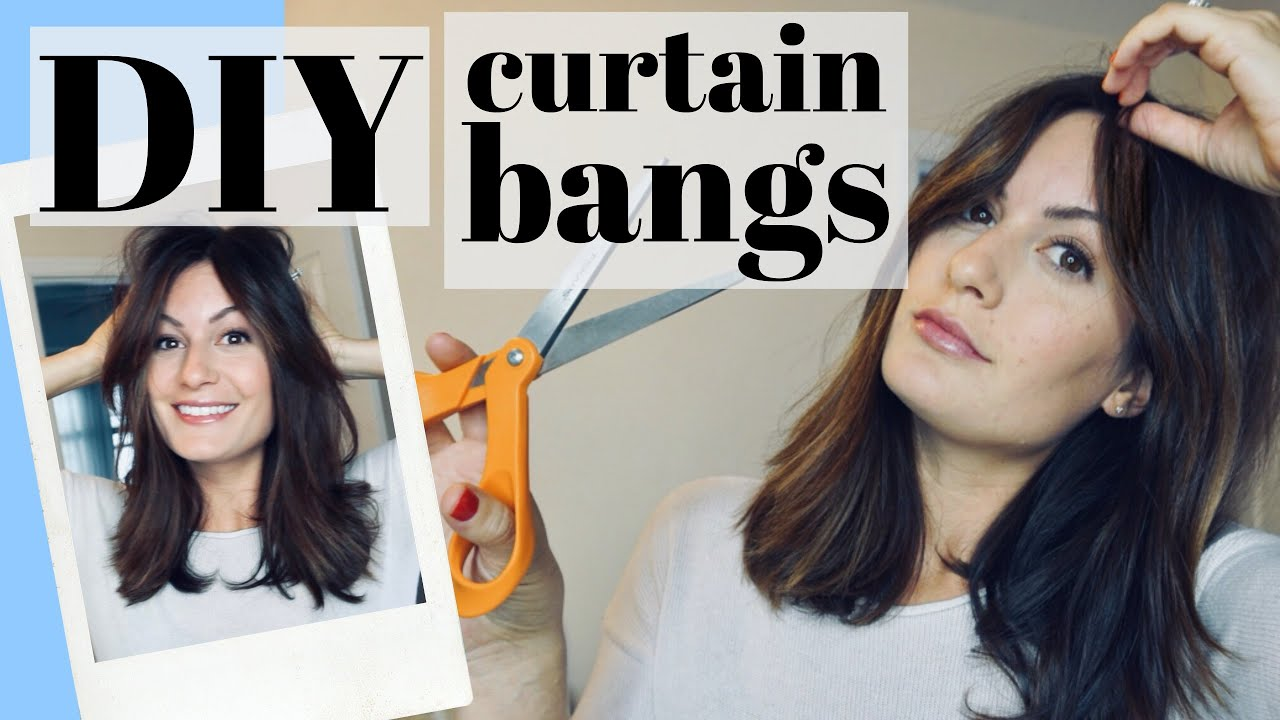 How To Cut Diy Curtain Bangs Face Framing Bardot Bangs Step By Step Hair Cutting Tutorial 2019 Youtube