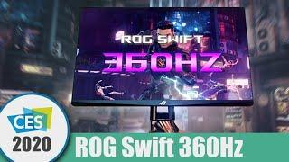 Nejrychlejší herní monitor na světě - ROG Swift 360Hz | CES 2020