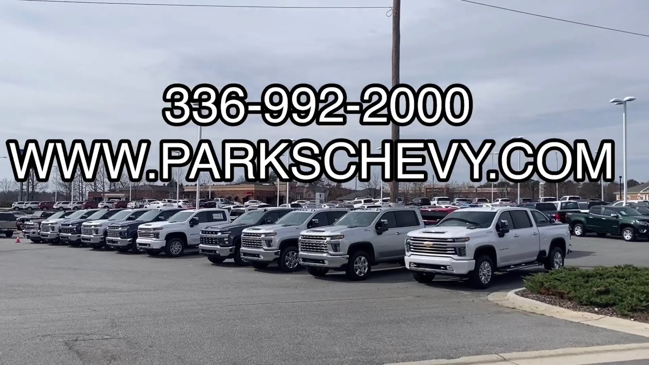 Parks Chevrolet Kernersville New Chevy In Kernersville Nc