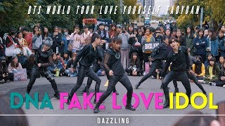 Gambar cover [KPOP IN PUBLIC] DNA / FAKE LOVE / IDOL│DAZZLING 🎵 방탄소년단 🇹🇼 BTS WORLD TOUR TAOYUAN