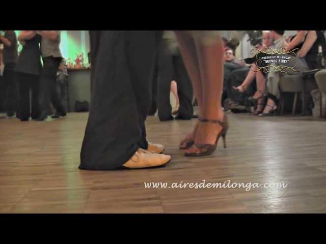 Berlin, tango dancers in Cafe Dominguez milonga, tango in Germany