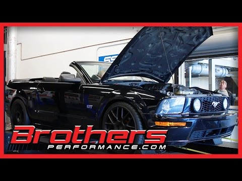 2005 Ford Mustang 4.6 GT Manual Transmission Dyno Test At Brothers Performance
